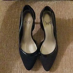 IMPO black Velocity high heels size 7M